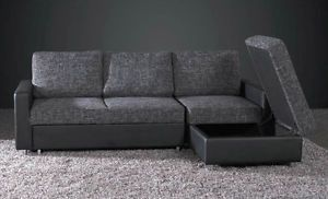 745 L Shaped Sofa Bed With Storage Ebay Home Direct Sofa Bed With Storage L Shaped Sofa Bed Pellet Furniture