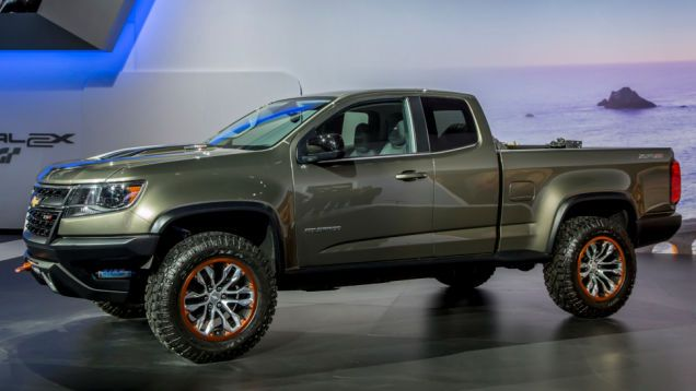GM May Make The Off-Road 2016 Chevy Colorado ZR2 [Update ...