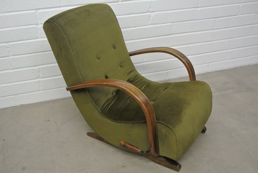 Charmant 1930u0027s Bentwood Banana Rocking Chair