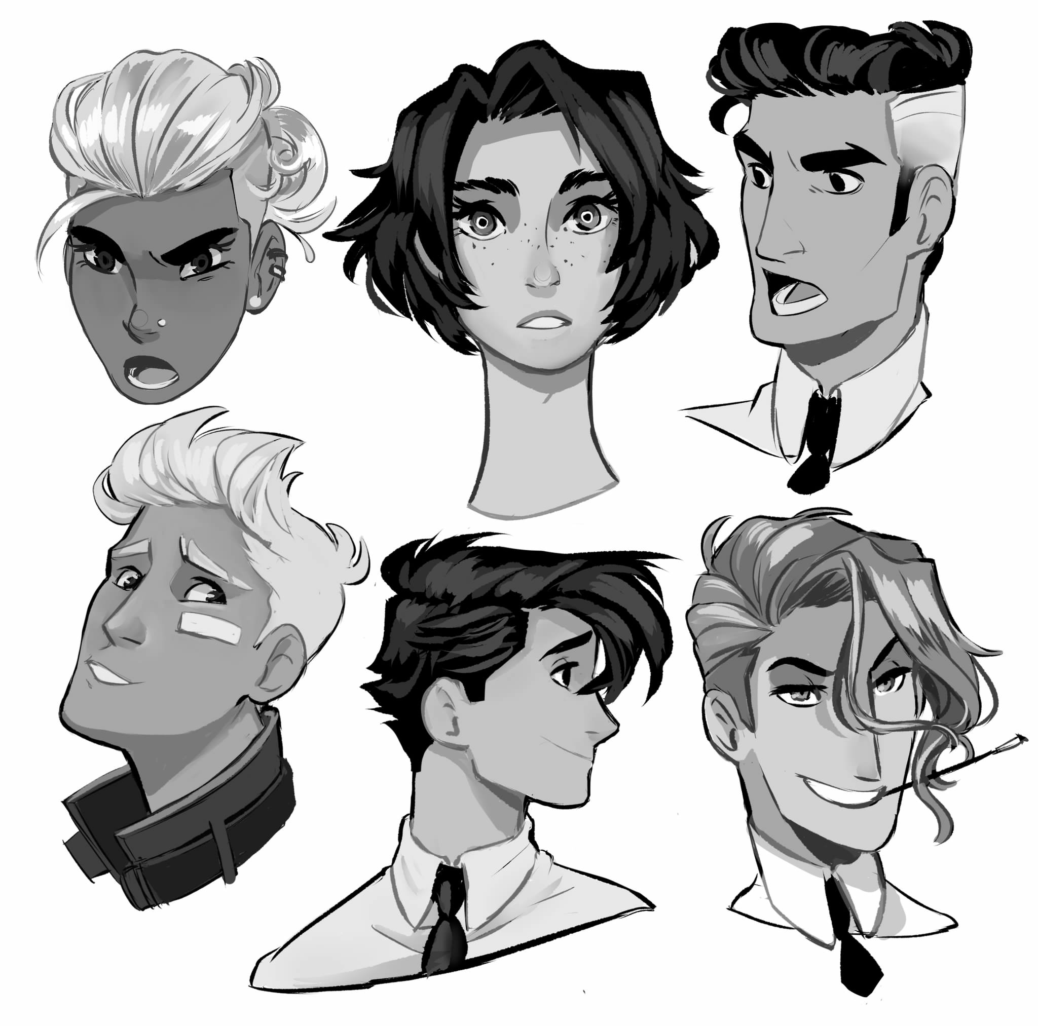 PrinceCanary How to draw hair, Guy drawing, Drawing male