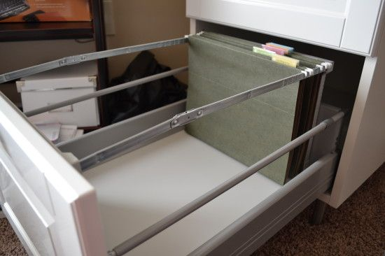 Hack The Akurum Into A Filing Cabinet Ikea Hacks Ikea