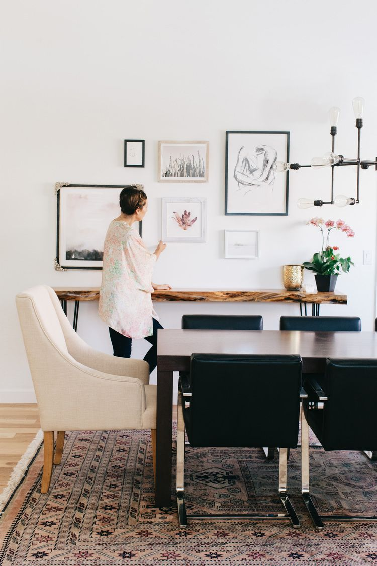 Create your own dining room gallery wall. Interior design ...