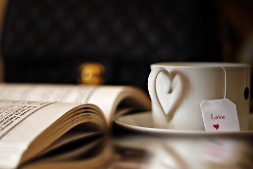 books and tea/coffee ;)