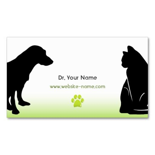 Veterinarian Business Card Zazzle Com In 2020 Veterinarian Cards Business Cards