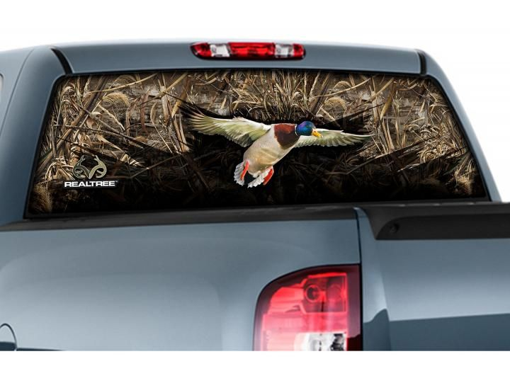 Camowraps Rear Window GraphicsWindow Film Window Graphics And Camo - Rear window hunting decals for trucks
