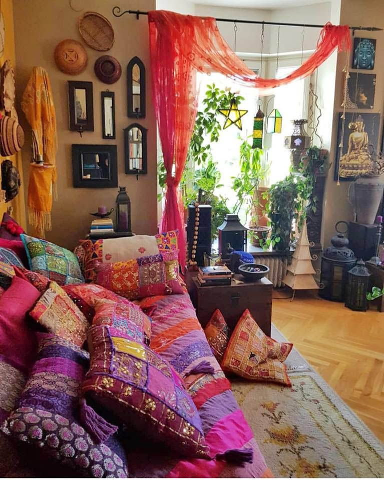 Motivating Bohemian Decorating Ideas For Living Room #bohemianhome