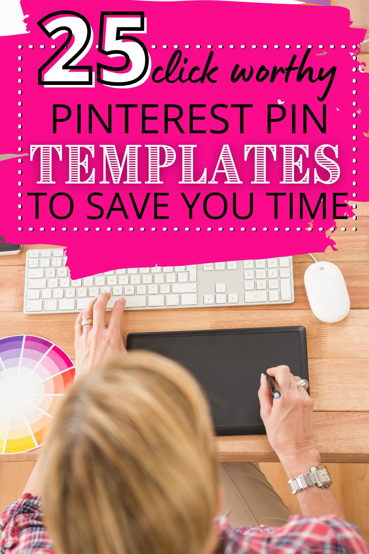Photo of Pinterest Pin-Vorlagen, um Ihnen so viel Zeit zu sparen (und mehr Zeit zum Schreiben neuer Blog-Beiträge zu lassen!)