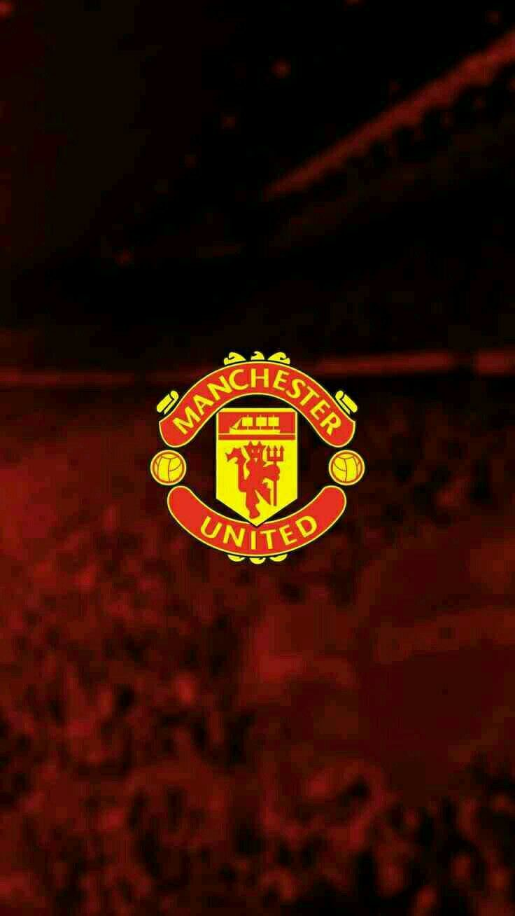 Manchester United Wallpapers Hd Wallpaper Manchester United Wallpaper Manchester United Logo Manchester United