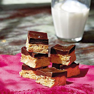 Chocolate-Peanut Bars among 70 best cookie recipes from Southern Living