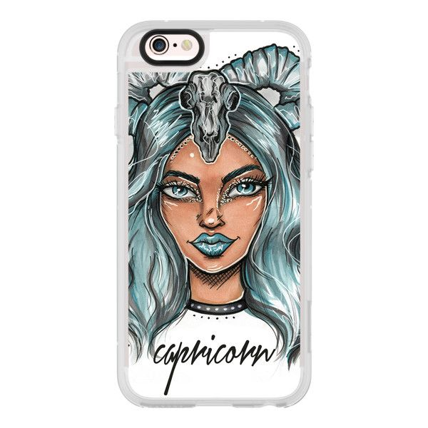 Capricorn - Zodiac Series  - iPhone 7 Case, iPhone 7 Plus Case, iPhone... (130 BRL) ❤ liked on Polyvore featuring accessories, tech accessories, case, iphone case, iphone cases, iphone cover case, clear iphone cases, iphone hard case and apple iphone cases
