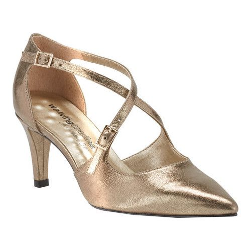 fa413a464b3 Women s Walking Cradles Stella Pump - Bronze Leather Pumps in 2019 ...