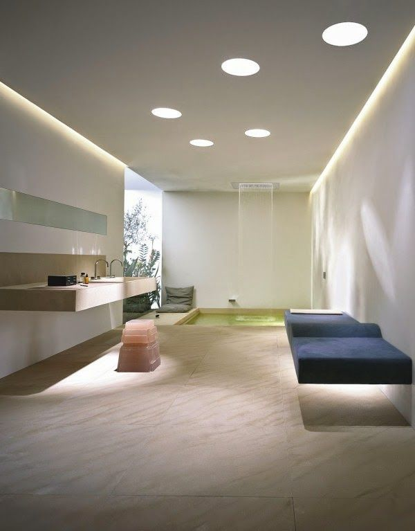 bathroom down lighting 30 cool bathroom ceiling lights and other lighting ideas 10544