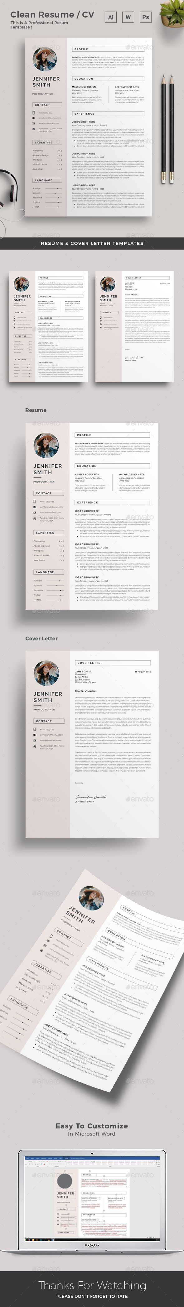 Resume  Resume Words Template And Cv Template