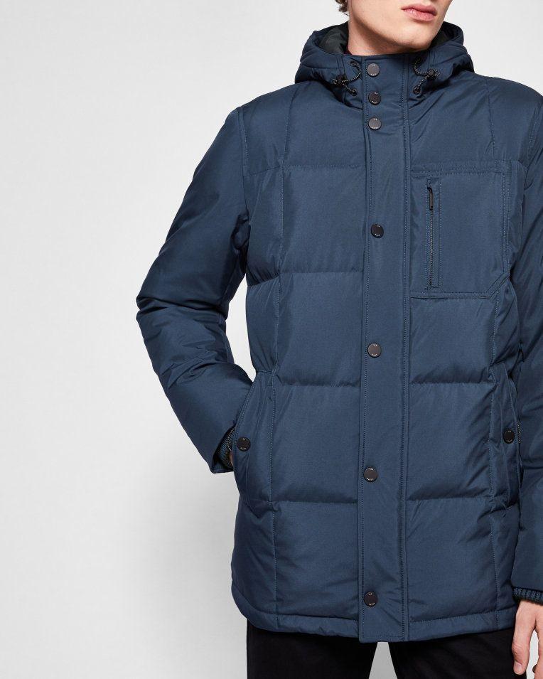 117fb32027821a Padded puffer coat - Teal