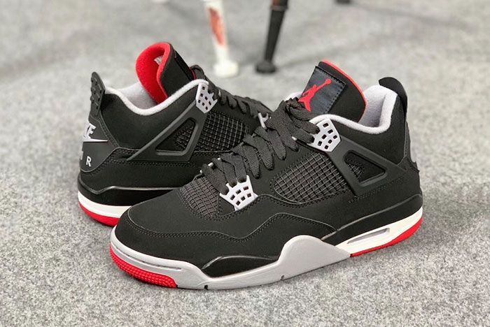 8085060d87976f New Release Date  The Air Jordan 4  Bred  Dropping Earlier Than Expected