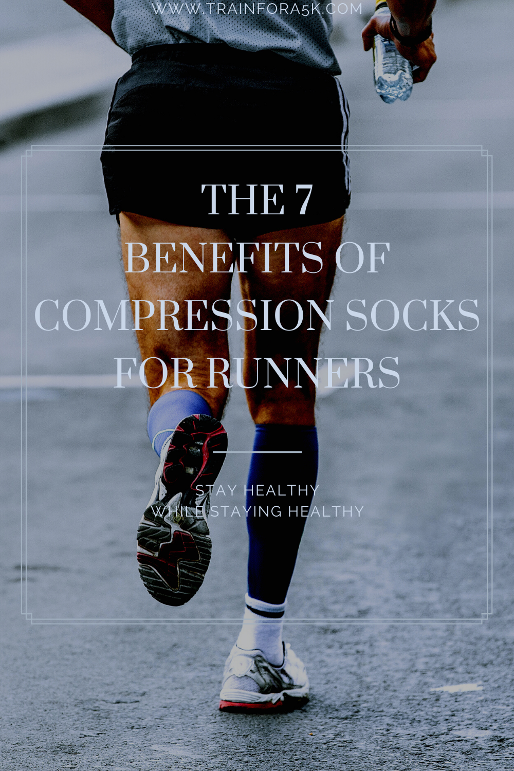 The 7 Benefits Of Running Compression Socks Train For A 5k Com Compression Socks Benefits Compression Socks Socks Training