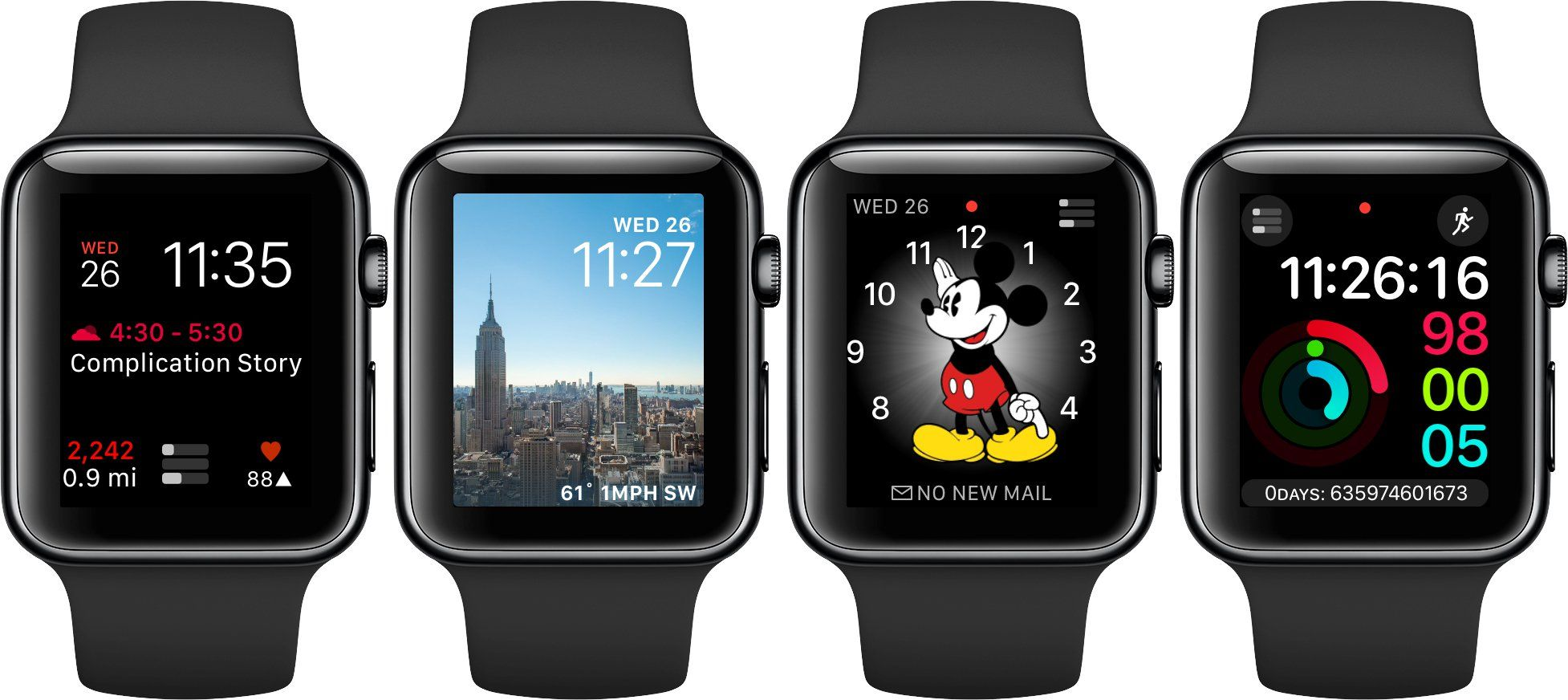 7 Great ThirdParty Apple Watch Complications Apple