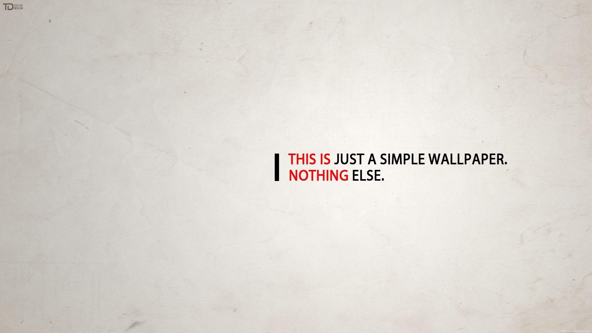 just a simple wallpaper hd wallpaper httpwww hdwallpaperuniverse com