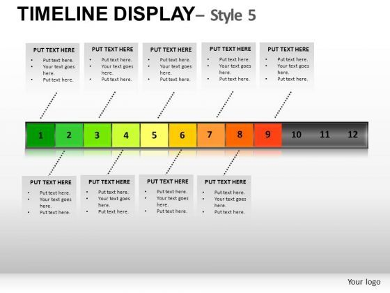 Powerpoint Monthly Timeline Template Search Results Timeline