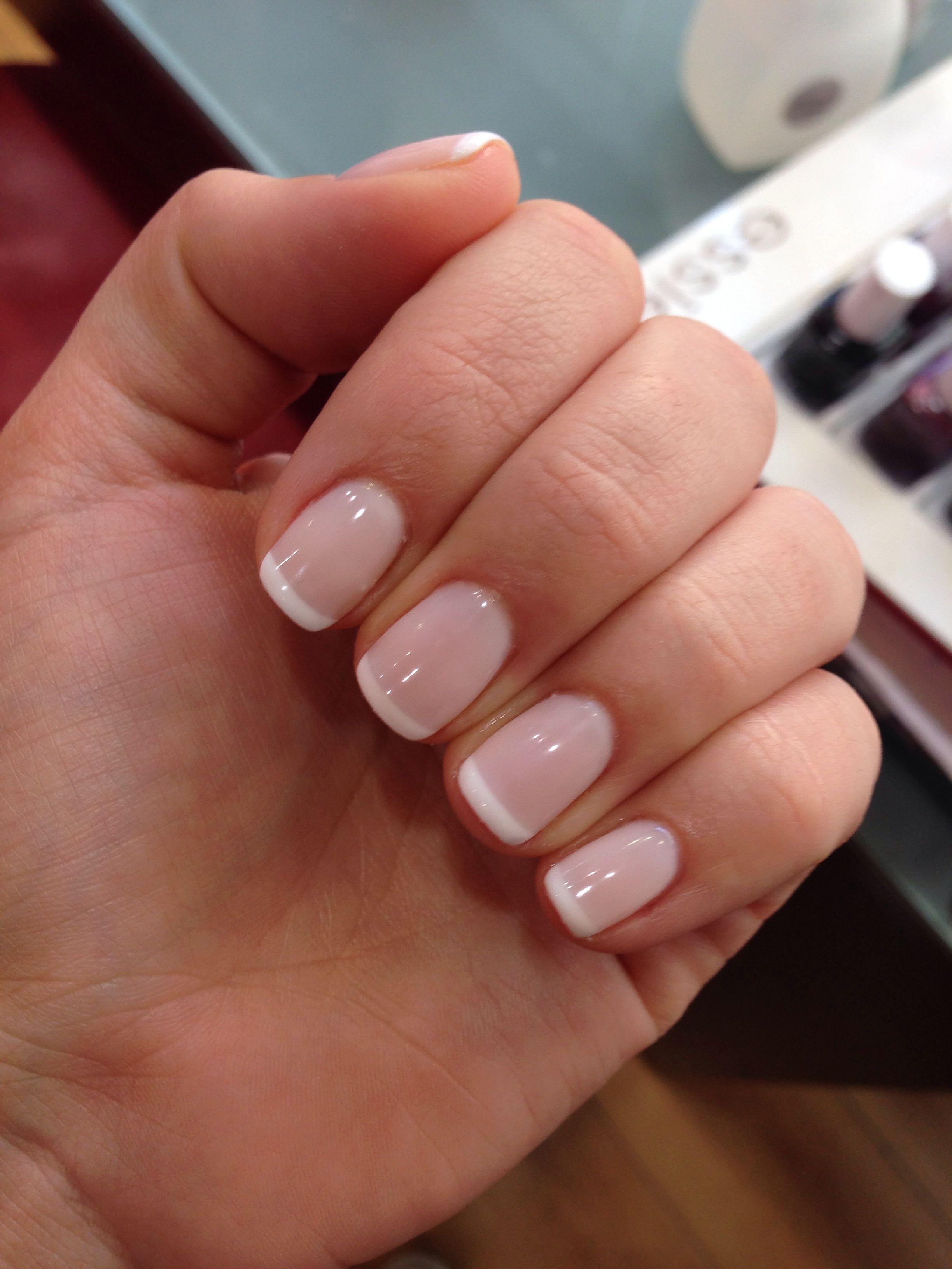 French Manicure With Images Ladne Paznokcie Kolorowe