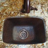 17 L X 12 W Cordoba Bar Sink Bar Sink Copper Bar Sink Sink