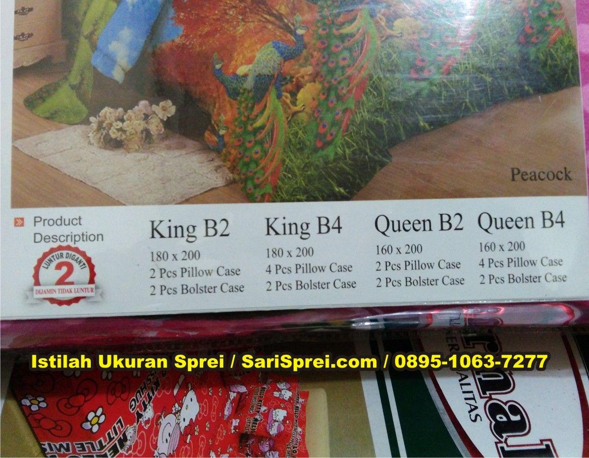Istilah Ukuran Sprei King Size Queen Size Harga Sprei Sprei