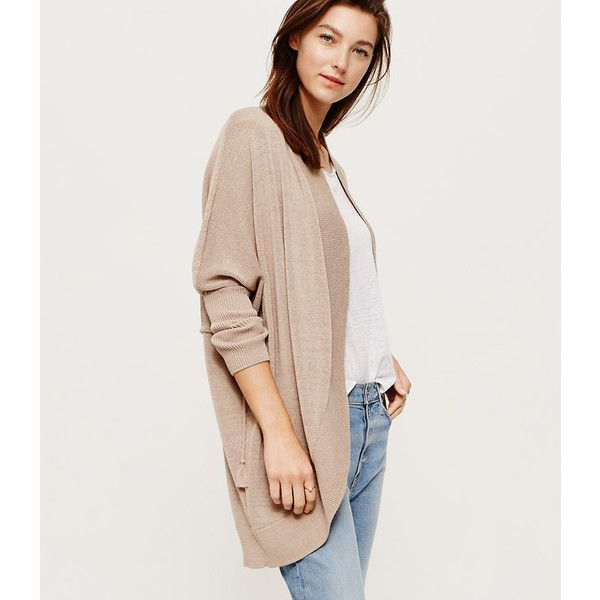 LOFT Lou & Grey Cocoon Cardigan ($70) ❤ liked on Polyvore ...