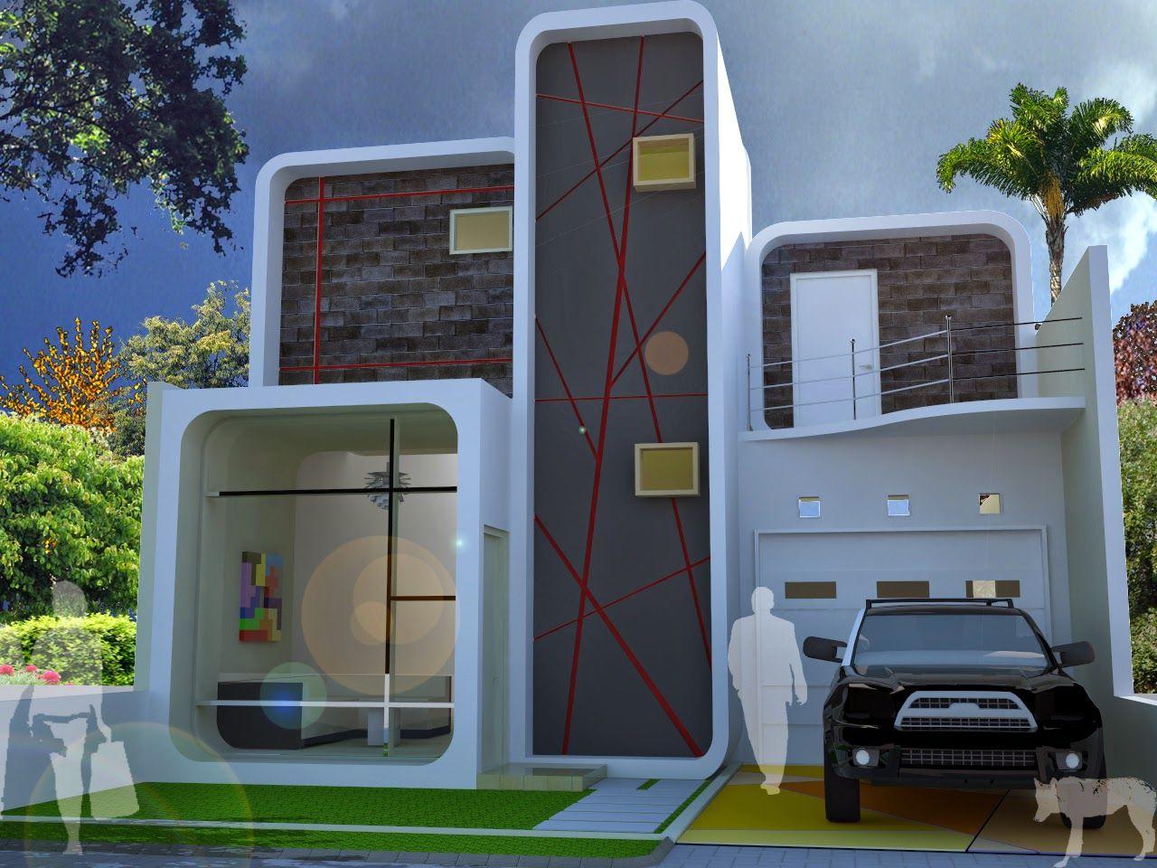 Fasad Rumah Minimalis Desain Rumah Dream Home Design Pinterest