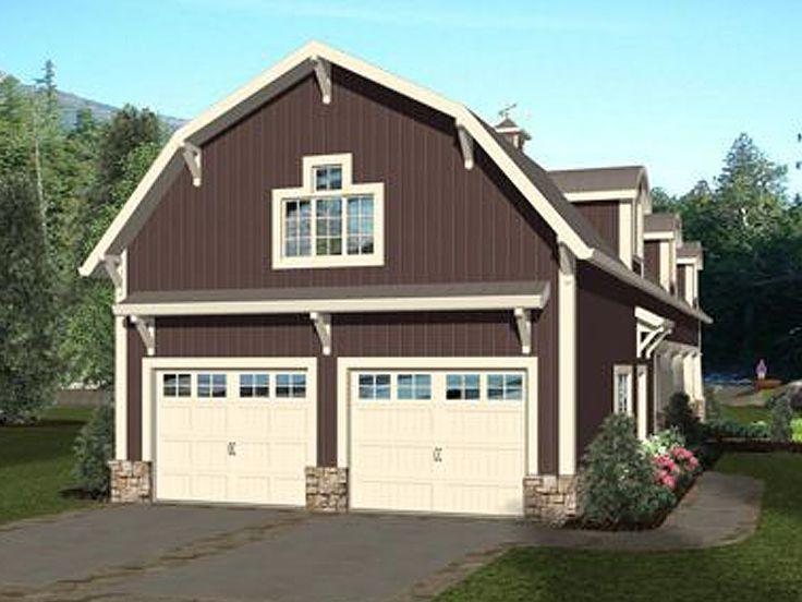 Garage Apartment Plan 007g 0021 Fun Apartment Plan With Bunks Rv Garage Would Need Expanding Garage Apartments Carriage House Plans House Plans Farmhouse