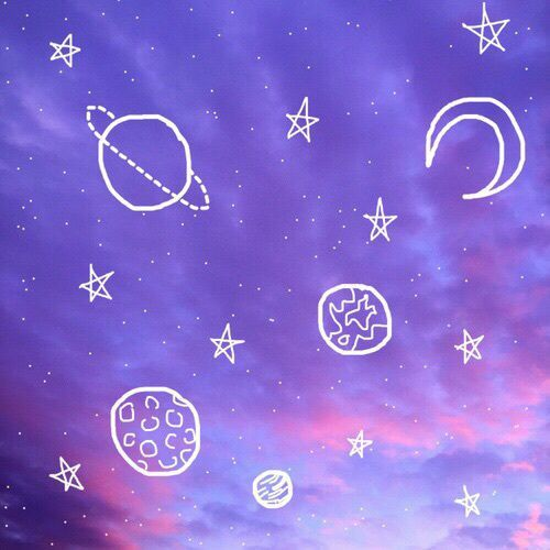 Purple Mood chronic galaxy purple astrology mood board * virgo | background