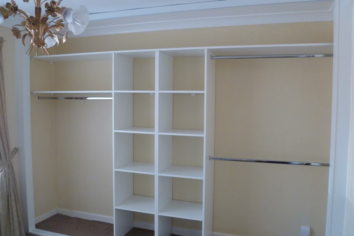 Wardrobe shelving and drawer designs Nottingham, Sliding ...