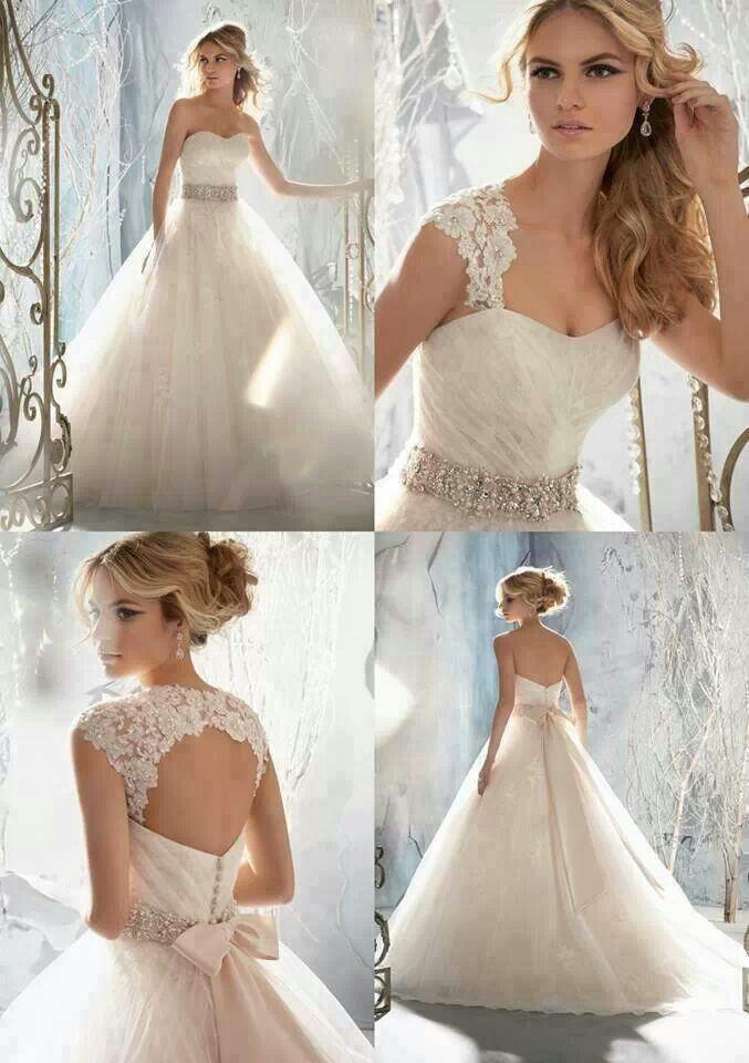 Mooie jurk van bridal closet