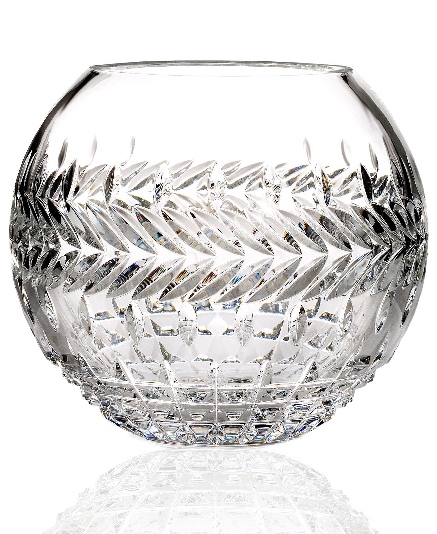 Gifts Fleurology Meg Rose Bowl Vase 8 Rose Bowl Waterford Crystal Decorative Bowls