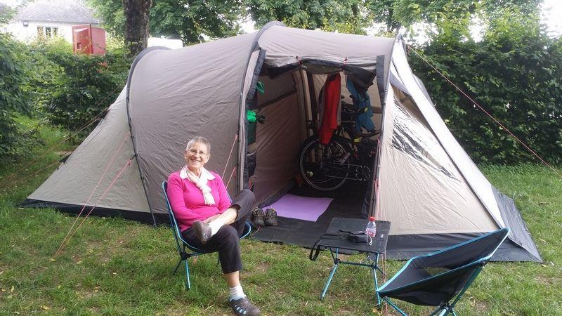 Cyclo camping - Tente Robens Midnight Dreamer
