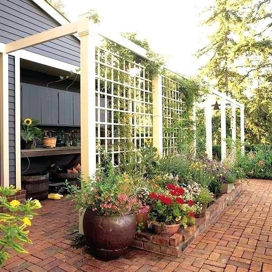 How To Make A Timber Garden Screen Diy Outdoor Privacy Screen Ideas ...
