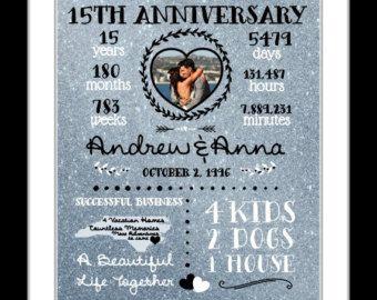 1 15th Anniversary Wedding Gifts 15 Year 10 20 2