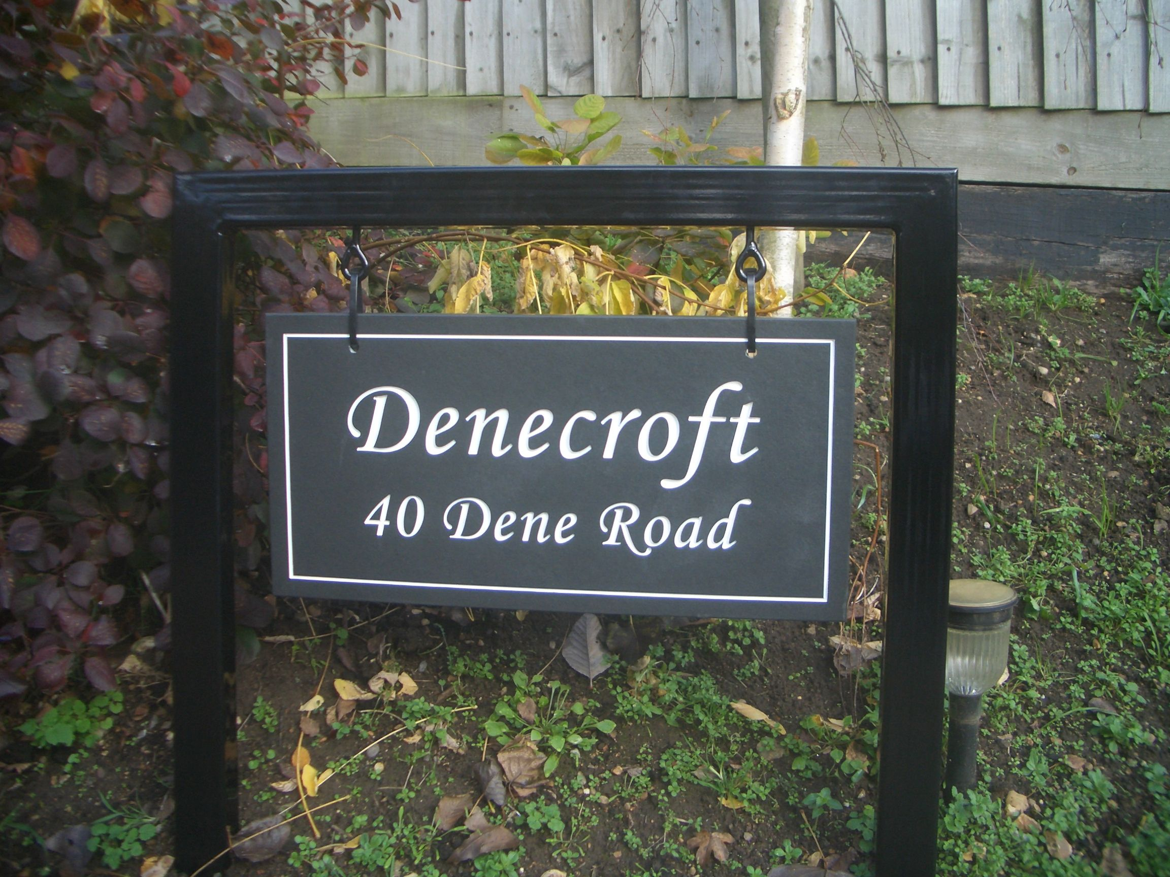 House Signs Available In A Range Of Stones And Styles Home