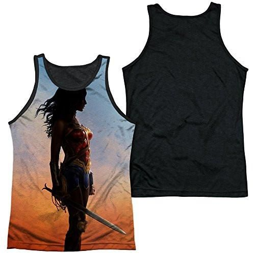 WONDER WOMAN Movie Poster 100% Poly Sublimation Tank Top