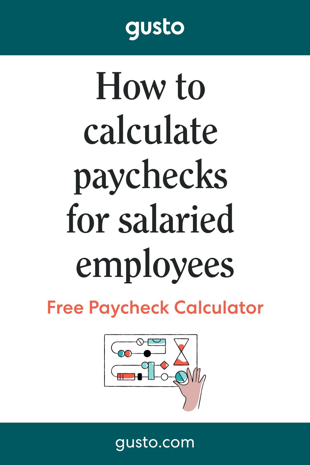 How To Calculate Paychecks For Salaried Employees Paycheck Salary Calculator