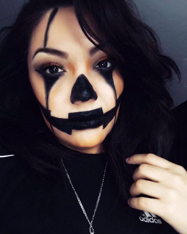 19 Unglaubliches Jack O'Lantern Make-up füttert Ihre Kürbis-Obsession #pumkinpaintideas