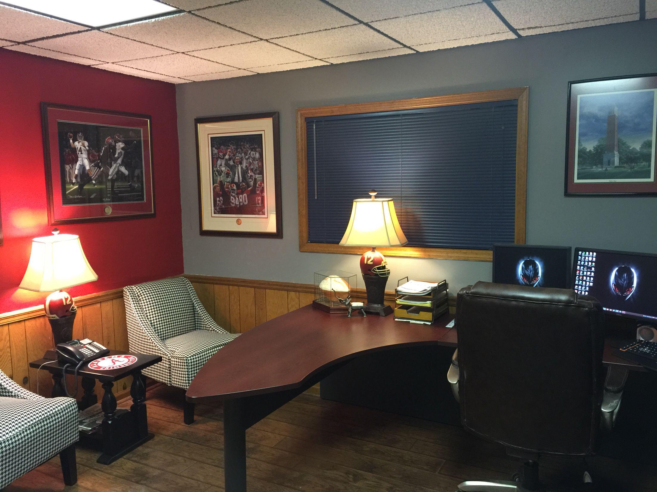 Alabama football office