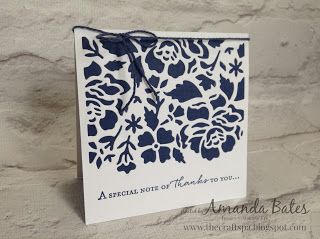 The Craft Spa - Stampin' Up! UK independent demonstrator : Detailed Floral Clean & Simple Notecard Set