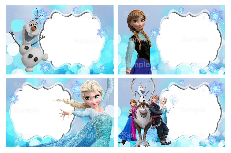 Invitacion De Frozen Editable Invitaciones De Frozen Invitaciones