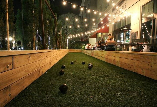 Bocce Bar  #MiamiSunHotel #Miami #FL #Hotel #Modern  #Stay #Travel #Vacation #Food #Restaurants #Bar