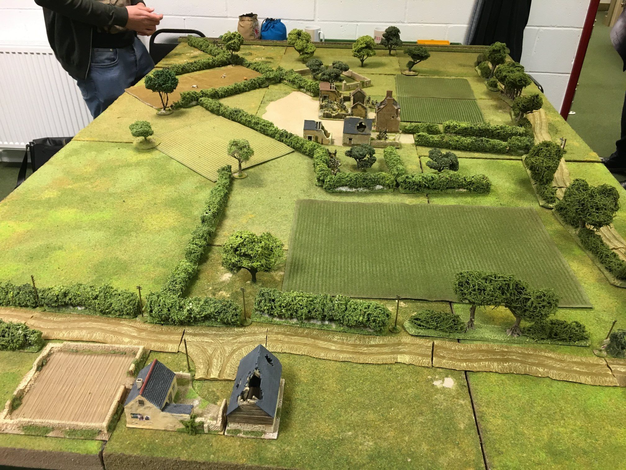 Pin By Paolo Sorbi On Bolt Action Wargaming Terrain Model Train Scenery Game Terrain