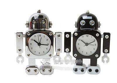 Robot Desk Alarm Clock Kids Table Clock for Home Table Decoration Children Gift
