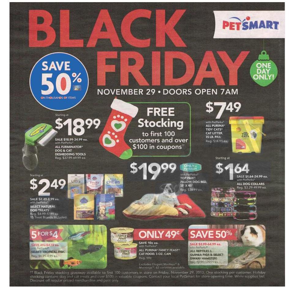 Petsmart Black Friday 2013 Ad Blackfriday Pet Christmas Stockings Black Friday Deals Black Friday