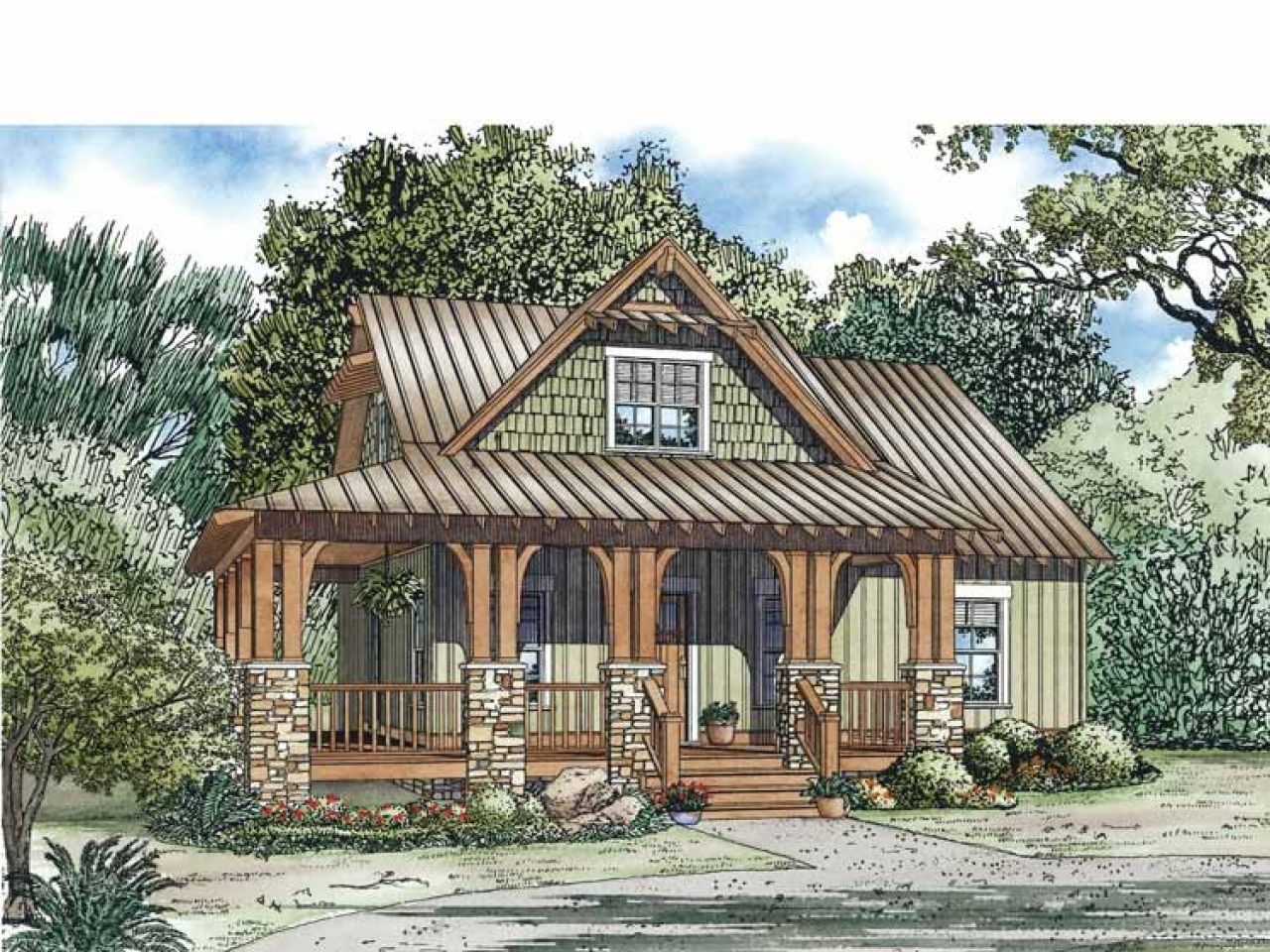 10 Awesome Cottage House Plans For 2019 Rustic House Plans Craftsman Style House Plans Country House Plans