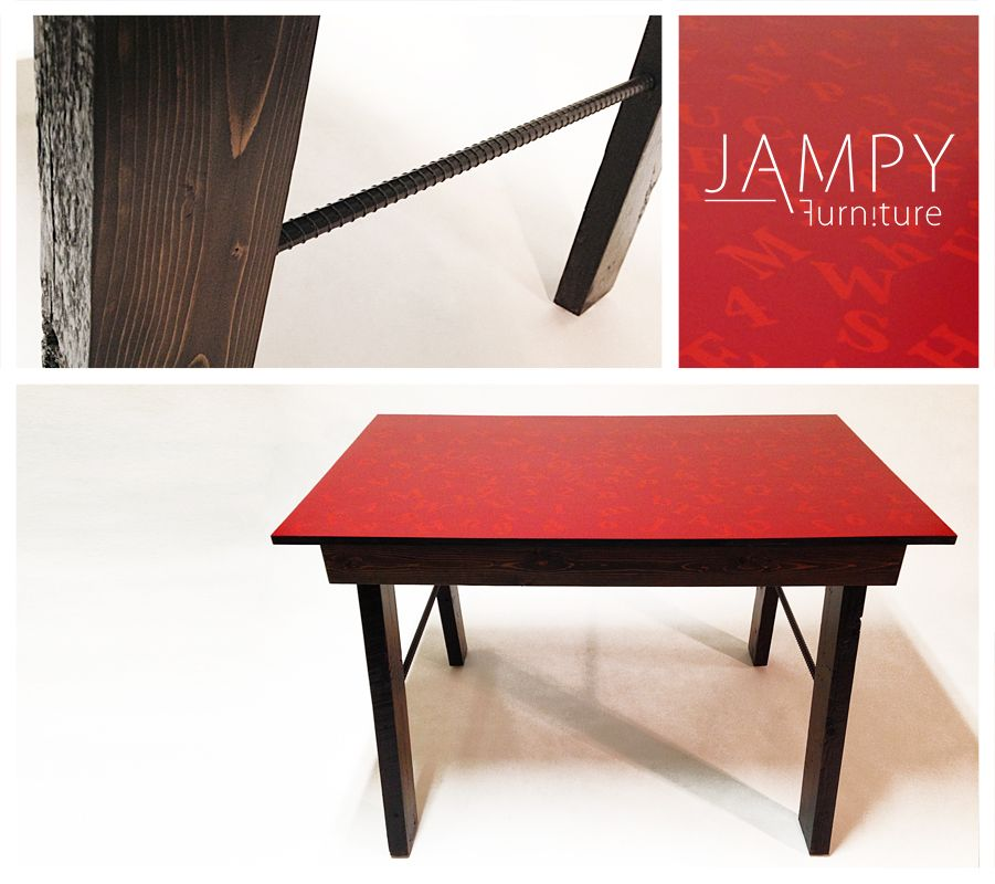 This Funky Little Number And Letters Desk Features 100