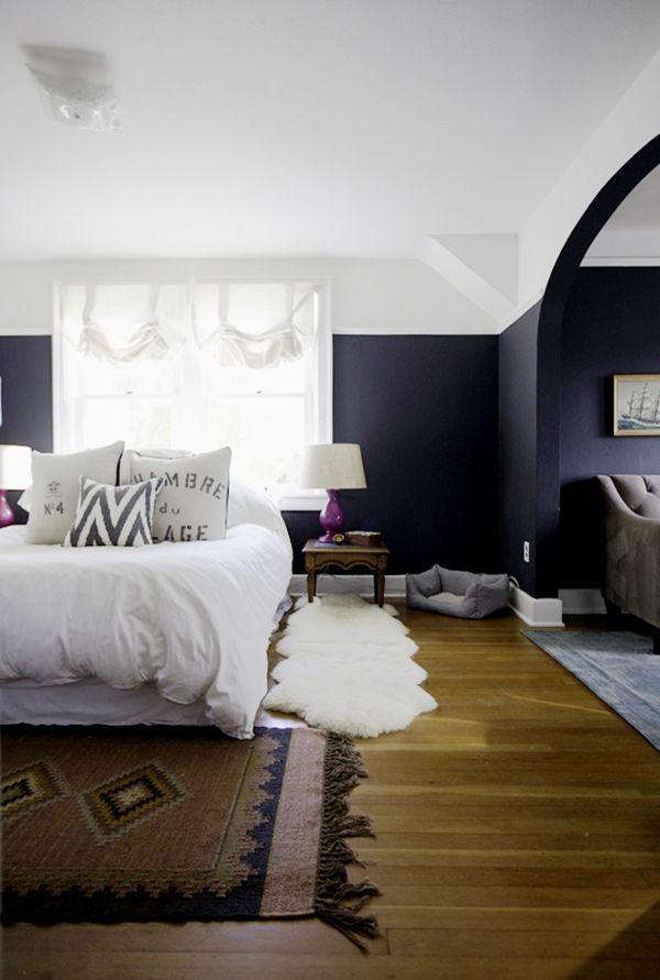 Black Accent Wall Bedroom Decor